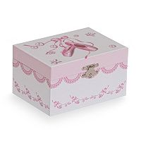 Mele & Co. Clarice Musical Ballerina Jewelry Box
