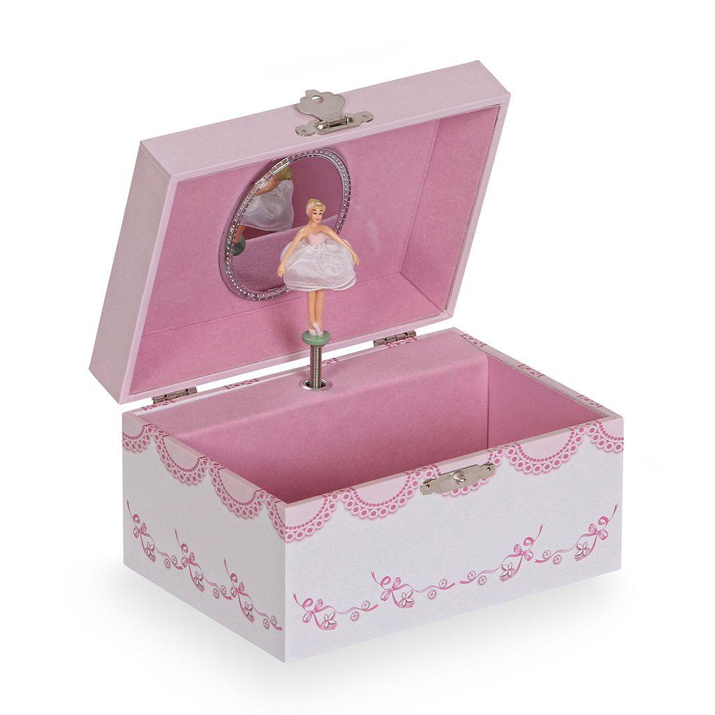 Mele & Co. Clarice Musical Ballerina Jewelry Box