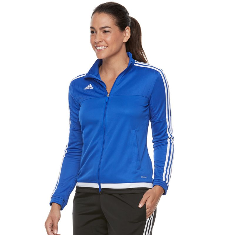 adidas Team Tiro 15 Training Jacket - Womens - Bold Blue/White