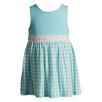 Toddler Girl Youngland Jacquard Knit Fashion Dress
