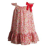 Toddler Girl Youngland Woven Chiffon Floral Dress