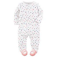 Baby Girl Carter's Polka-Dot Ballerina Sleep & Play