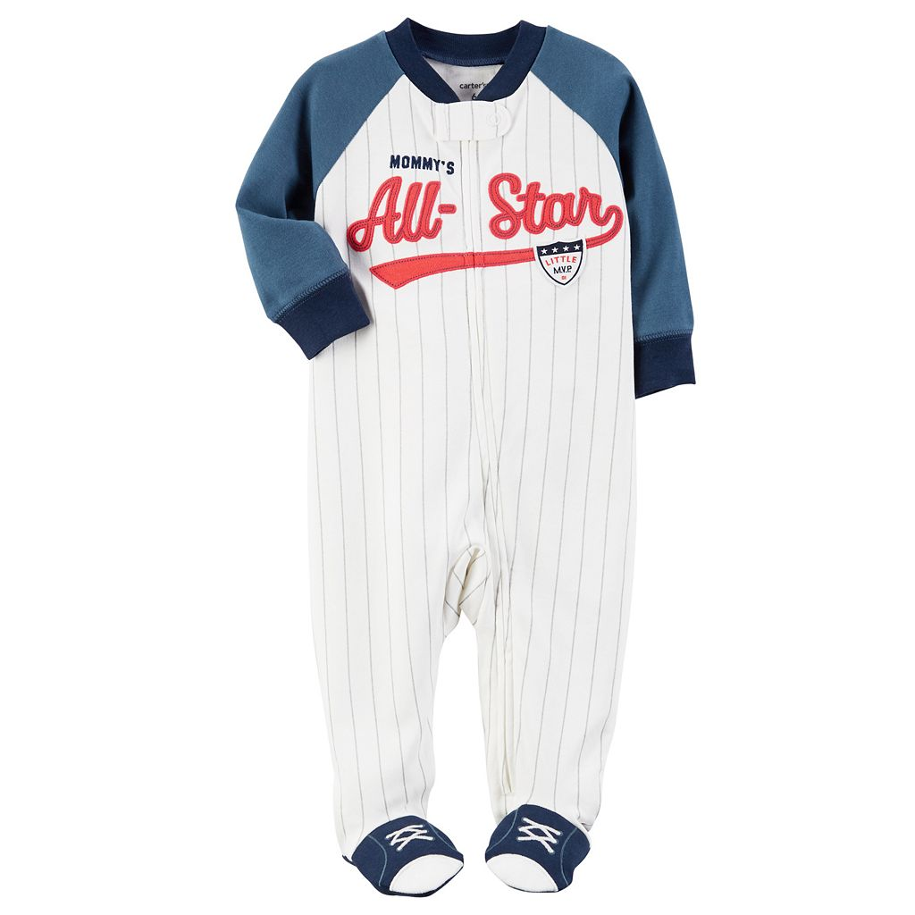 Baby Boy Carter's Baseball Sleep & Play
