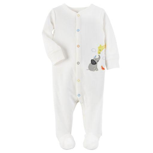 Baby Carter's Embroidered Animals Sleep & Play