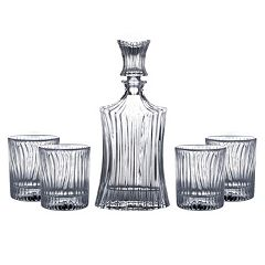 Fitz & Floyd Augusta 5 pc Decanter Set