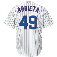 Men's Majestic Chicago Cubs Jake Arrieta Cool Base Replica Jersey