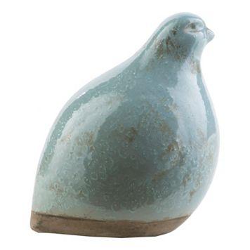 Decor 140 Bawaro Colorblocked Ceramic Decorative Bird Table Decor