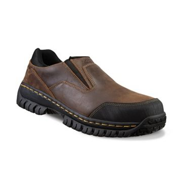 Skechers Work Relaxed Fit Hartan Men's Steel-Toe Shoes