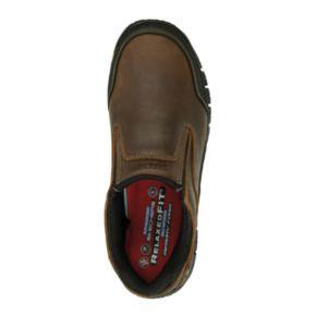 Skechers Work Relaxed Fit Hartan Men's Steel-Toe Shoes