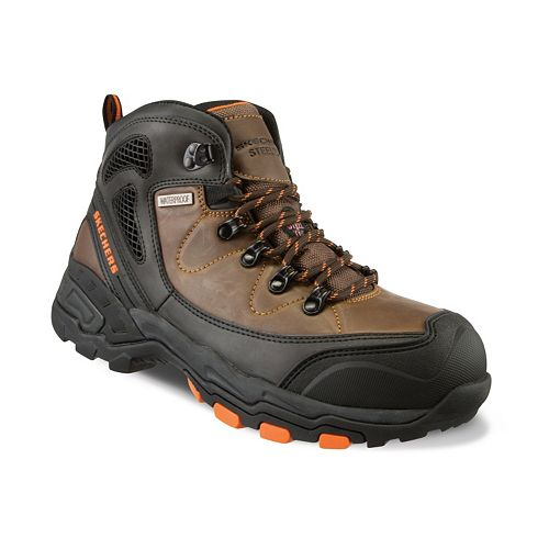ddead5f72466 Skechers Work Relaxed Fit Surren Men s Waterproof Steel-Toe Boots