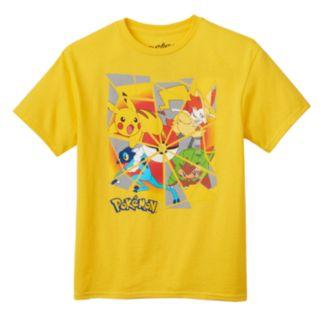 Boys 8-20 Pokemon Shattered Glass Tee