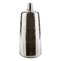 Decor 140 Rilchei 17' x 7' Pewter Finish Vase