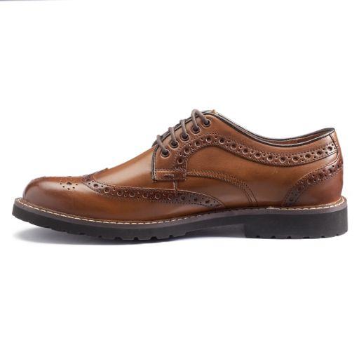 Chaps Concourse Men's Wingtip Shoes