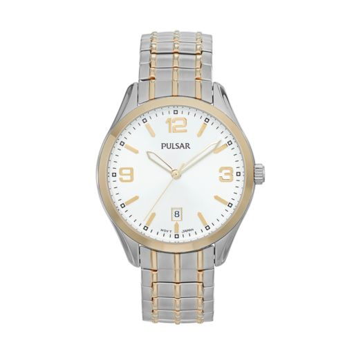 Pulsar Men's Traditional Stainless Steel Expansion Watch