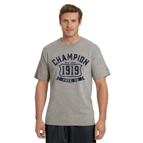 Men's Champion Logo Tee