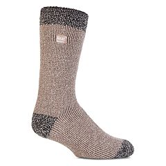 Men's Heat Holders Twist Thermal Crew Socks