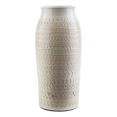Decor 140 Salia 15' x 7' Textured Beige Vase