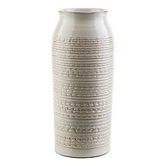 Decor 140 Salia 12' x 6' Textured Beige Vase