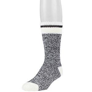 Men's Heat Holders Thermal Block Twist Crew Socks
