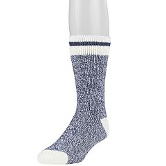 Men's Heat Holders Thermal Block Twist Crew Socks