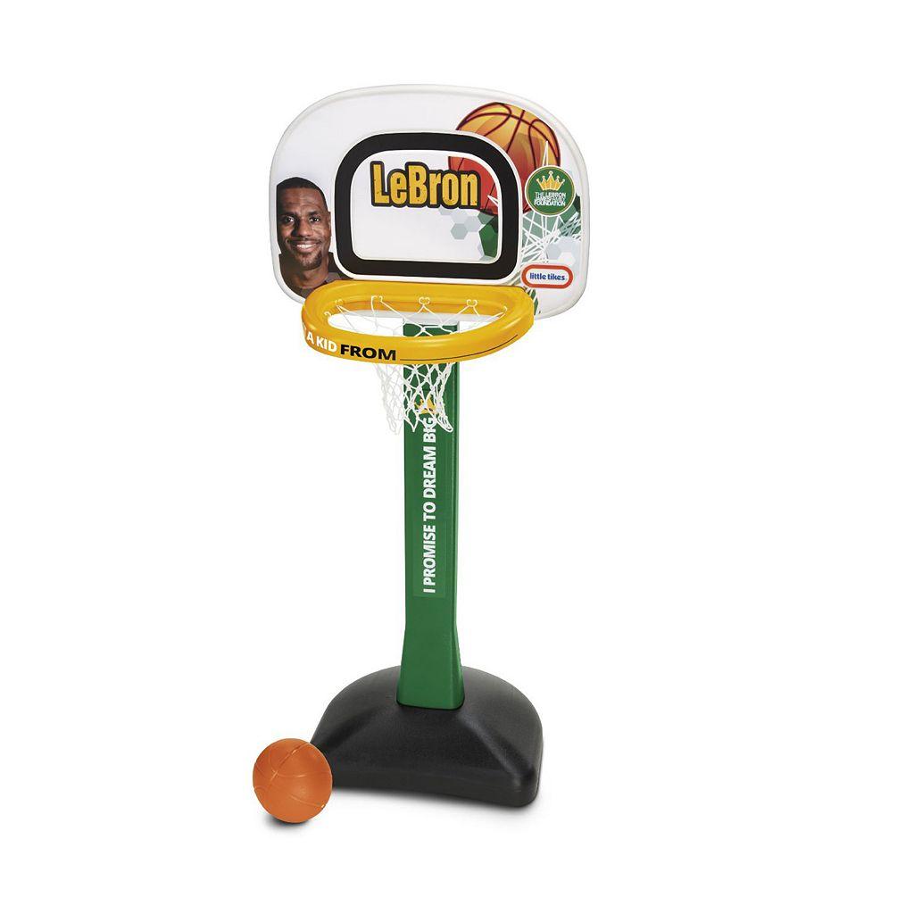 Little Tikes LeBron James Family Foundation Mini Hoop Basketball Set