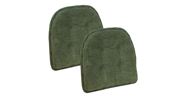 The Gripper Rembrandt Tufted Chair Pad 2 Pk