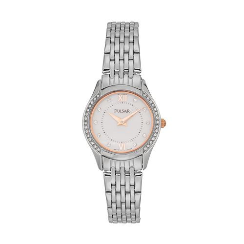 Pulsar Women's Crystal Stainless Steel Watch - PM2235