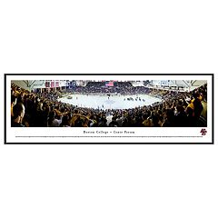 Boston College Eagles Hockey Arena Framed Wall Art