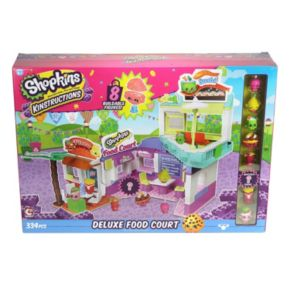 Shopkins Kinstructions Deluxe Food Court Set
