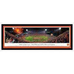 Clemson Tigers Football Stadium Framed Wall Art