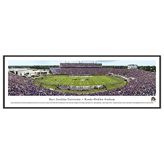 East Carolina Pirates Football Stadium Framed Wall Art