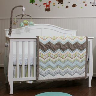 Nurture Zigzag 3-pc. Crib Bedding Set