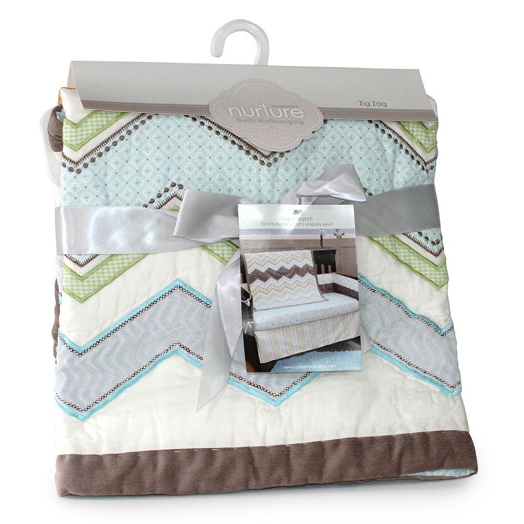 Nurture Zigzag 3-pc. Crib Bedding Set