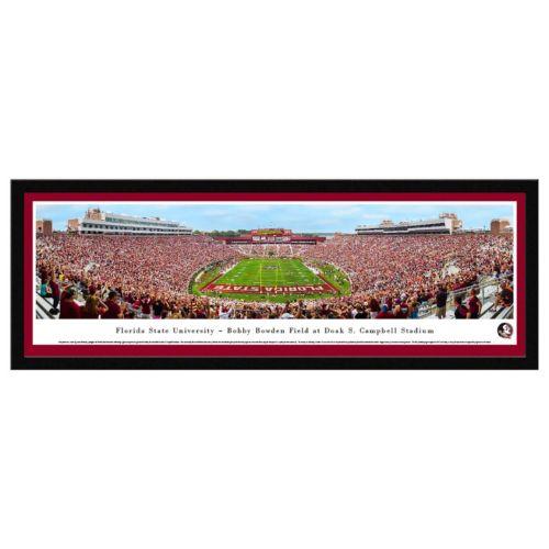 Florida State Seminoles Football Stadium Framed Wall Art