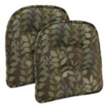 The Gripper Dora Tufted Chair Pad 2-pk.