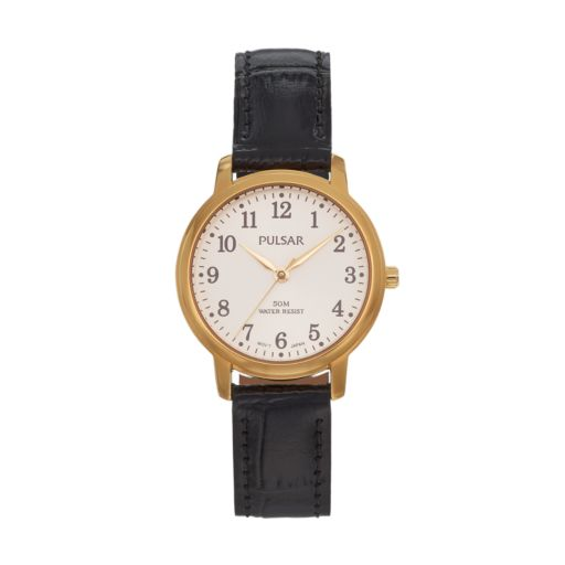 Pulsar Women's Leather Watch - PG2048X
