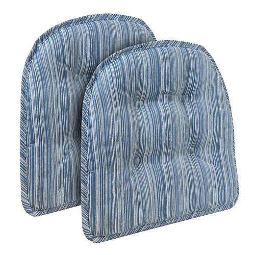 The Gripper Sophia Tufted Chair Pad 2-pk.