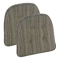 The Gripper Sophia Tufted Chair Pad 2-pk.