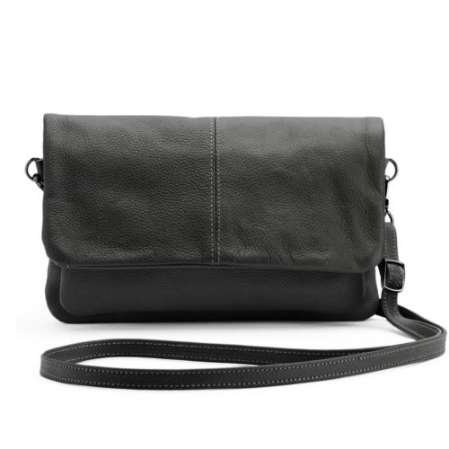 R&R Leather Leather Flap Cross...