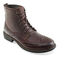 Eastland Bennett Men's Leather Wingtip Boots by