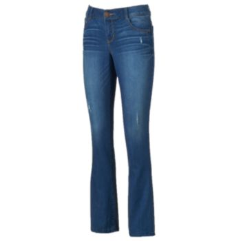 Women's Artisan Crafted by Democracy Ripped Baby Bootcut Jeans