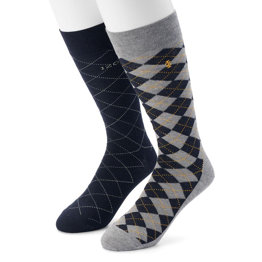 Men's IZOD 2-pack Argyle Dress Socks