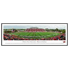 Illinois State Redbirds Football Stadium Framed Wall Art