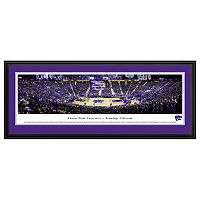 Kansas State Wildcats Basketball Arena Framed Wall Art