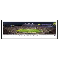 LSU Tigers Football Stadium Framed Wall Art