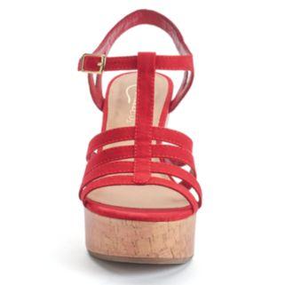 Candie's® Lunar Women's Wedge Sandals