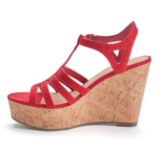 Candie's® Lunar Women's Wedge Sandals