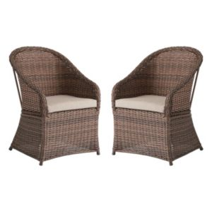 SONOMA Goods for Life™ Wicker Patio Chair 2-piece Set
