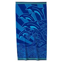 Celebrate Summer Together Dolphin Beach Towel