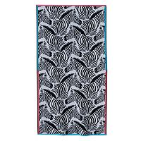 Celebrate Summer Together Zebra Beach Towel